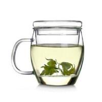 楼龙 耐热玻璃杯 创意泡茶杯茶具套装 花茶杯 玻璃茶壶 CF-124