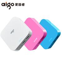 包邮 aigo/爱国者充电宝OL10400毫安便携迷你 手机通用移动电源