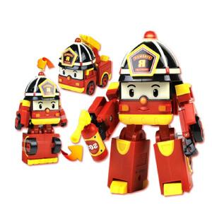 [当当自营]Silverlit 银辉 POLI系列 罗伊闪亮变形消防车 SVPOLI83093STD