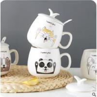 懿聚堂  酒桶马克杯咖啡杯 陶瓷情侣杯子创意水杯茶杯