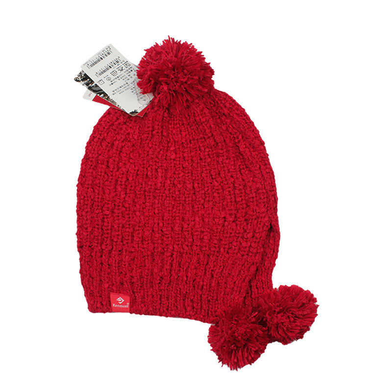 kenmont卡蒙护耳毛线帽子 冬天 女 可爱 韩版帽1221