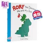 现货 罗里的恐龙:我和我爸爸 英文原版 Rory the Dinosaur: Me and My Dad 治愈漫画 Liz Climo 萌蠢漫画