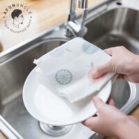 家居金银丝绒布双面超吸水洗碗布 不掉毛不沾油去污抹布