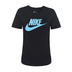 Nike耐克女装 运动跑步短袖T恤 718604-011