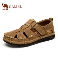 camel骆驼男鞋  凉鞋男休闲鞋包头手工沙滩鞋 夏季鞋