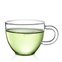 楼龙 耐热玻璃茶杯子 红茶杯 功夫茶具 创意品茗杯 一对两个   1204     CF-104X2