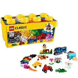 [当当自营]LEGO 乐高 CLASSIC经典创意系列 中号积木盒 积木拼插儿童益智玩具 10696