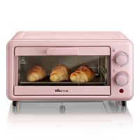 小熊(Bear)多功能家用迷你烤箱全自动烘焙电烤箱 DKX-A12B1