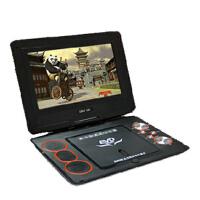 先科超薄14寸移动DVD便携式DVD CD播放机儿童学生机 CD机 胎教机 带小电视evd家用影碟机13寸
