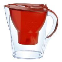 【当当自营】 BRITA 碧然德 Marella 金典系列 滤水壶 2.4L 红色