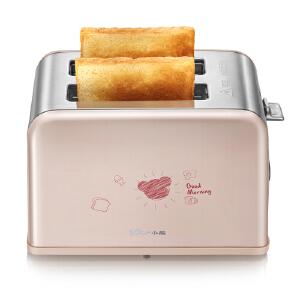 小熊(Bear)烤面包机家用2片早餐机吐司机 全自动多士炉 DSL-A02U1