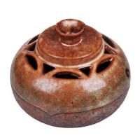 陶瓷故事 精品粗陶盘香炉 香熏炉 香道用品摆件