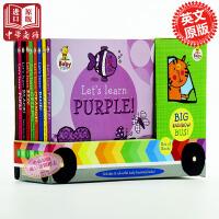 宝宝学习小巴士套装 英文原版Baby Steps Bus Box Set  纸板书 撕不坏 低幼启蒙