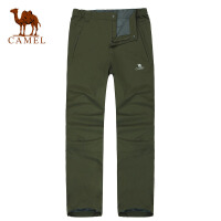 Camel骆驼 户外男装 运动休闲裤保暖长裤男裤 冲锋户外裤