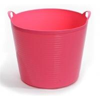 圣强 超大号环保塑料储水桶 儿童沐浴桶 宝宝泡澡 婴儿沐浴盆(玫红色)