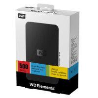 西部数据Elements元素/500G/2.5寸移动硬盘 WD/西数 可移动硬盘