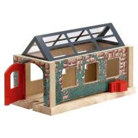Thomas&Friends 托马斯和朋友 木质轨道配件 火车车站 LC99381生日节日礼物礼品 清仓处理 外包装破损 产品完好