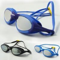 正品韩国士宝泳镜 防雾舒适防水大框游泳镜 男女平光泳镜SIL-1AFM