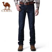 CAMEL骆驼 牛仔裤 水洗牛仔裤男直筒 休闲时尚修身男士牛仔裤 2F47011