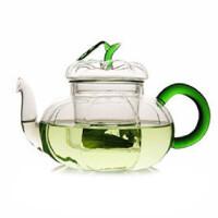 自由城 透明玻璃壶套装 南瓜壶 花茶壶 750ml CF-113 茶具 HB-20