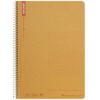 日本maruman玛禄曼 spiral牛皮纸封面螺旋笔记本A5 记事本 方格本