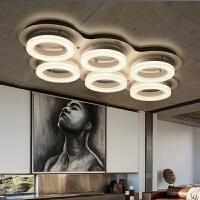 东联LED客厅灯吸顶灯长方形圆形卧室灯具大厅创意后现代简约灯饰X293