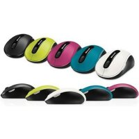 微软 无线蓝影鼠标4000 无线蓝影4000 便携 迷你接收器