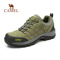 camel骆驼 户外 登山鞋 男  秋冬新款徒步越野鞋 低帮登山鞋 男