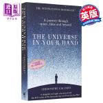 预售 极简宇宙史 英文原版The Universe in Your Hand : A Journey Through Space, Time and Beyond Christophe Galfard