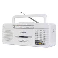 熊猫 6516 U盘播放 MP3 USB 插卡录音机/收录机/磁带录音机/播放机/老人收录机