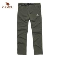CAMEL 骆驼 户外抓绒裤 男女款 户外休闲裤保暖 软壳裤