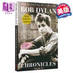 2016年诺贝尔文学奖 鲍勃迪伦 编年史 沿着公路直行 鲍勃迪伦传自传传记 英文原版 Chronicles Bob Dylan