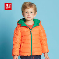 jjlkids季季乐童装儿童羽绒服轻薄款冬季男童白鸭绒中小童外套BDY63086