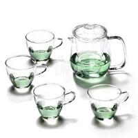 HEISOU 茶具套装 玻璃茶具五件套 AKT-016
