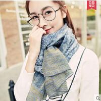 文艺百搭百变披肩围巾两用 韩版学生 季超长款棉麻丝巾女士