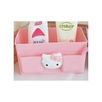 陆捌壹肆  凯蒂猫HelloKitty桌面收纳盒 可爱卡通KT收纳整理盒 化妆品收纳盒