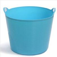 圣强 超大号环保塑料储水桶 儿童沐浴桶 宝宝泡澡 婴儿沐浴盆(粉蓝色)Z1102