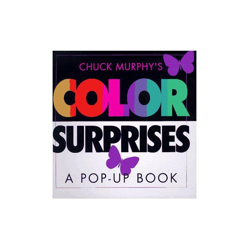 彩色惊喜(立体书) 英文原版 color surprises(pop-up) chuck murphy