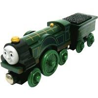Thomas&Friends 托马斯和朋友 中型火车系列 非常木制火车世界 艾蜜莉 LC99188 生日节日礼物礼品 清仓处理 外包装破损 产品完好