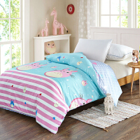 当当优品 纯棉斜纹床上用品 被罩 150*220cm  俏皮龙猫