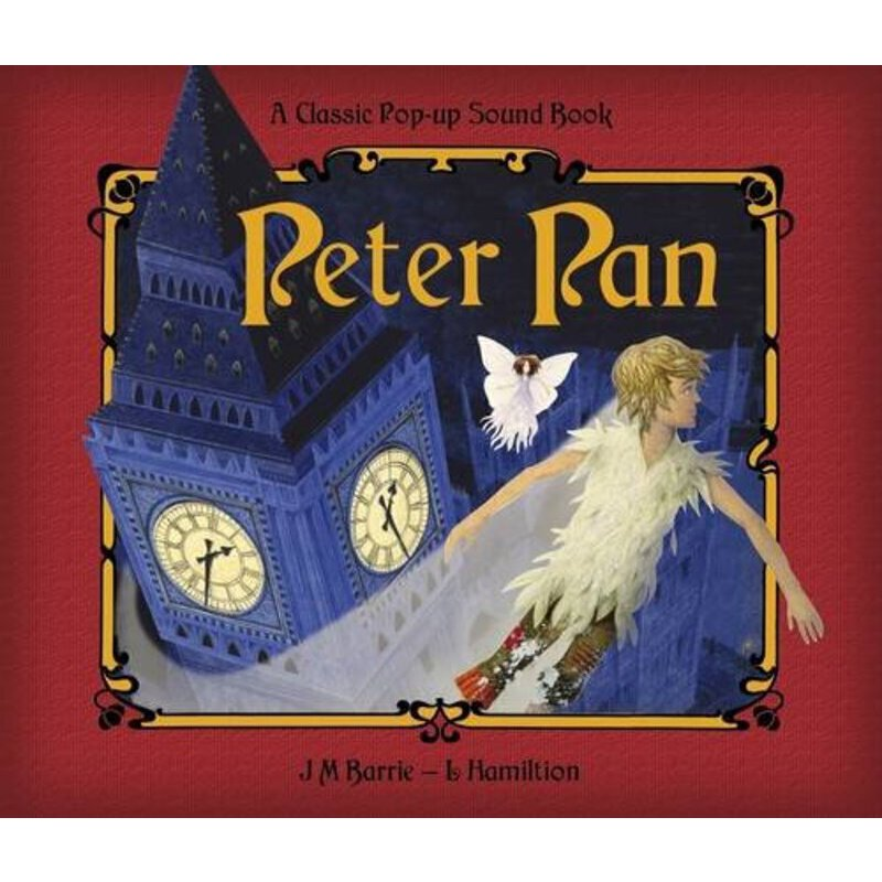 《英文原版 Peter Pan Sound Book 彼得潘立体