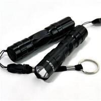 迷你3W手电筒强光手电筒迷你骑行远射调焦防水便携自行车灯