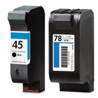 彩帝 兼容 HP45号 HP78号墨盒 适用于惠普HP 710C 930C  830C   1280C      1180C                          打印机用墨盒 绘图仪专用 喷码机专用墨盒