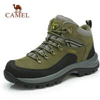 camel骆驼户外 登山鞋 男士中帮徒步登山鞋