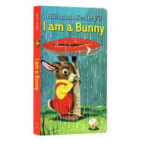 I Am a Bunny 我是一只兔子 Little Golden Book 英文原版 低幼童纸板书 早教启蒙金色斯凯瑞进口经典童书