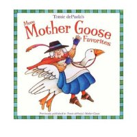 Tomie dePaola's More Mother Goose Favorites [Paperback] 汤米・狄波拉 鹅妈妈童谣 ISBN 9780448444949