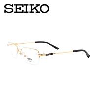 精工眼镜架 纯钛眼镜架 半框眼镜框近视男款潮 配眼镜镜架 HC1002
