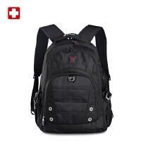 SWISSWIN瑞士军刀双肩包男女中学书包背包电脑包旅行包SW9211