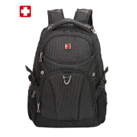 SWISSWIN瑞士军刀双肩包男商务包潮流旅游背包学生书包