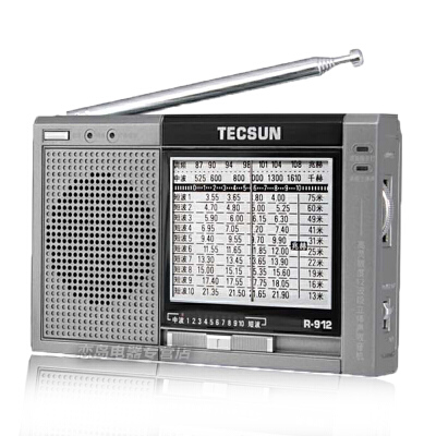 德生r912 便携式老年人收音机全波段收音机广播半导体
